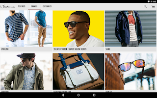Screenshot of JackThreads: Shopping for Guys