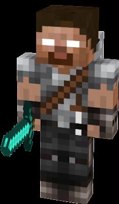 Minecraft Skin Herobrine #hunter | Nova Skin