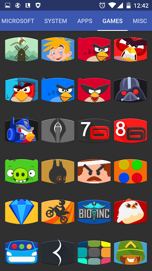 Panorama Material Icon Pack Screenshot 0
