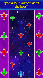 Spaceship Galaxy Fighting Game APK for Bluestacks