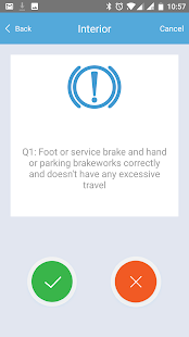 Velocity Vehicle Check Business app for Android Preview 1
