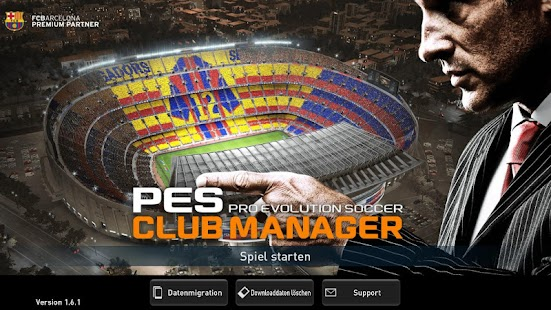 PES CLUB MANAGER Screenshot