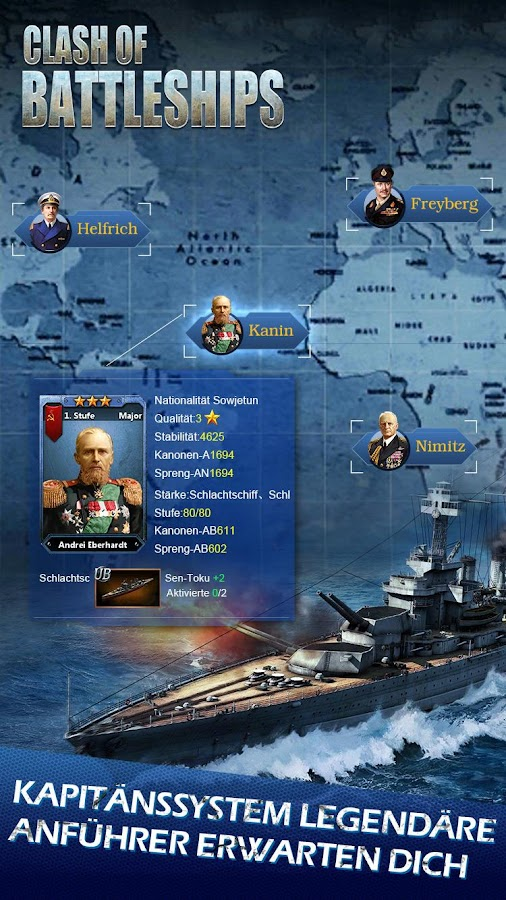 Clash of Battleships - Deutsch Screenshot 11