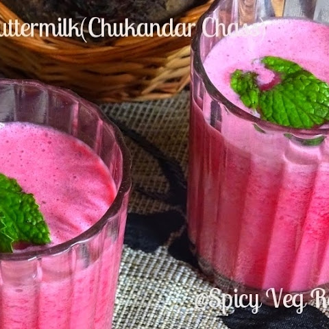 beetroot Buttermilk (Chukandar Chaas)