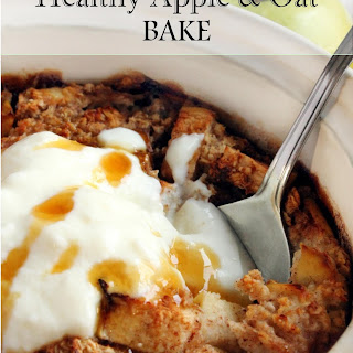 Healthy Oat and Apple Bake
