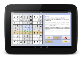 Screenshot of Sudoku 10'000 Plus