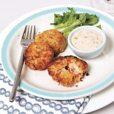 Gluten-Free Crab Cakes with Spicy Dairy-Free Remoulade