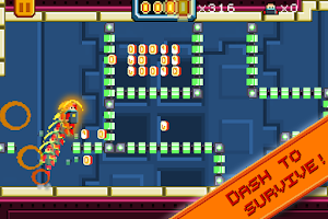 Screenshot of Super Bit Dash