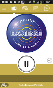 Rádio Brotense Porecatu - screenshot