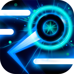 Neon Ball Runner - arcade game For PC