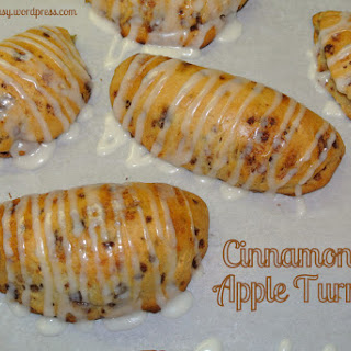 Cinnamon Roll Apple Turnovers