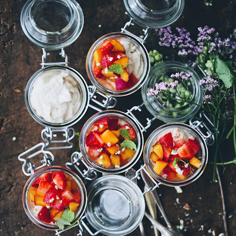 Italian Cheesecake Jars