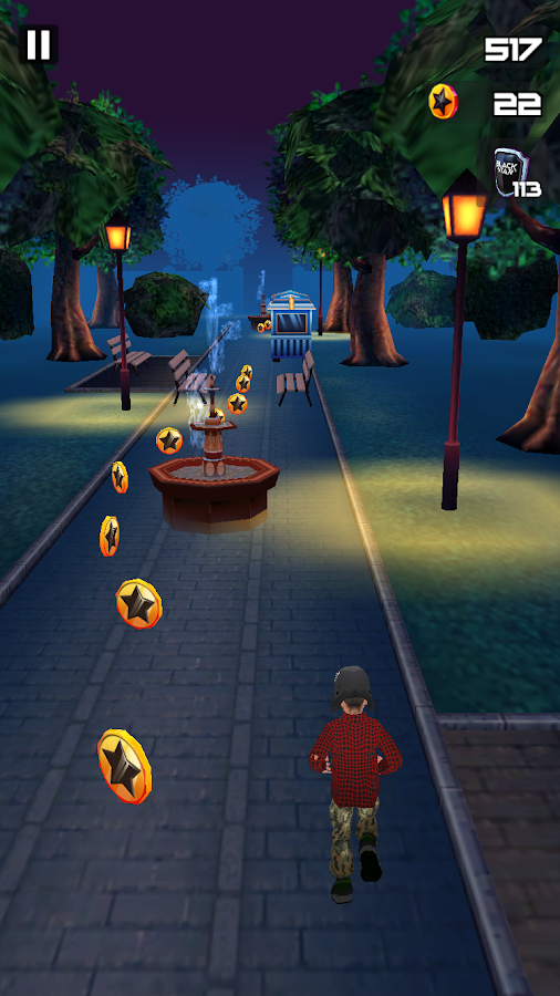 Black Star Runner Screenshot 1