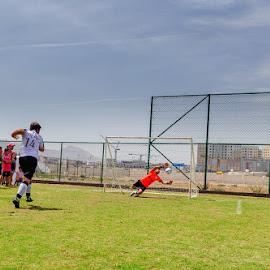 penalty shootout by Sanjoy Sengupta - Sports & Fitness Soccer/Association football ( #muscat, #nikon, #oman club, #sports, #football, #nikon middle east, #kids, #oman, #mcfl, #mcfl 2015,  )