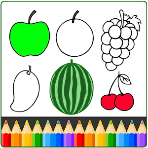 Fruit and Vegetables Coloring game for kids For PC / Windows 7/8/10 / Mac – Free Download