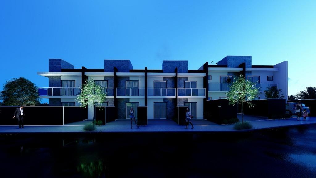 Sobrado com 2 dormitórios à venda, 95 m² por R$ 399.000 - Santo Antônio - Joinville/SC