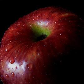 Red Apple by Pradeep Kumar - Food & Drink Fruits & Vegetables