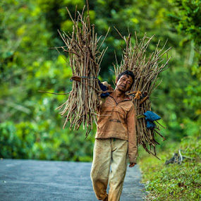Pencari Kayu by Ab Photowork's - People Street & Candids