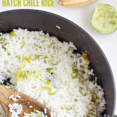 Hatch Chile Rice