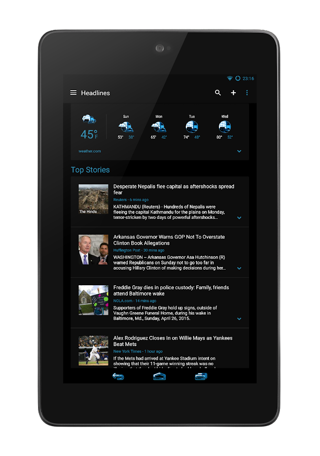 Holo Theme CM12 CM 13 Screenshot 8