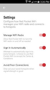 Red Pocket WiFi App APK for Bluestacks