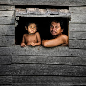 father & son by Yaman Ibrahim - People Family ( dad with kids )