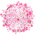 Romantic Sakura Keyboard Theme Icon
