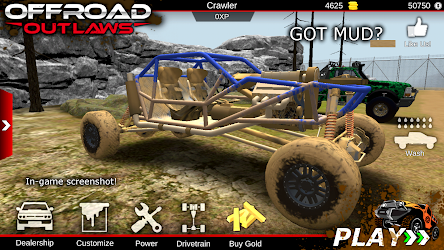 Offroad Outlaws Mod 1.1.4 Apk [Unlimited Money] 1