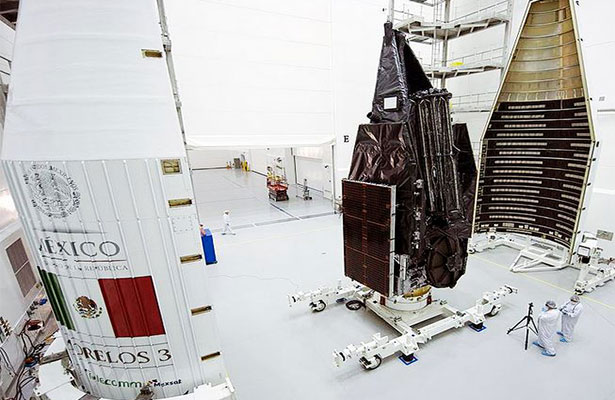 Avanza la cuenta regresiva para el lanzamiento del satélite Morelos 3