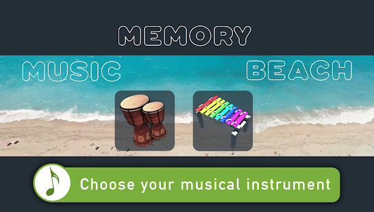 Music Memory Beach- screenshot thumbnail