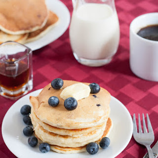 Flax Seed Blueberry Pancakes Recipes