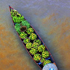 FULL by Sofian Anwar - Transportation Boats ( water, boat, river )