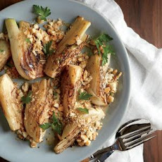 Braised Fennel with Parmesan Breadcrumbs