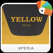 XPERIA™ Yellow Retro Theme