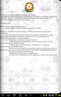 The Civil Code of Azerbaijan - screenshot