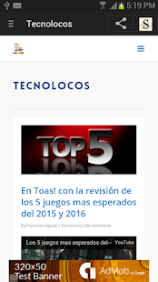Revista En Toas - screenshot