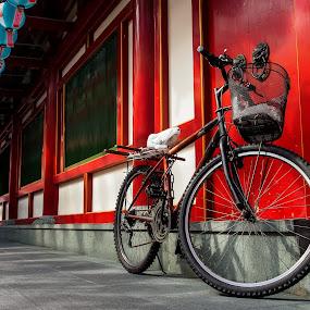 Park by Mario Wibowo - Transportation Bicycles ( studio, mario, 2013, kelapa gading, wibowo, travel, trip, cityscape, mwp, singapore )