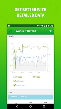 Endomondo - Running & Walking APK screenshot thumbnail 3