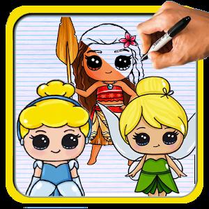Wie zeichne Disney Princess Cartoon android apps download