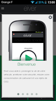 Screenshot of eiver Beta release