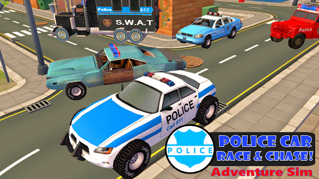 Police Car Chase Sim 911 FREE APK screenshot thumbnail 7