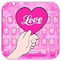 Beautiful Love Heart Keyboard Theme? APK