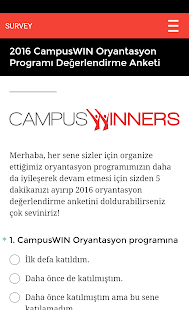CampusWIN - screenshot