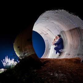 Tunnel by Lodewyk W Goosen (LWG Photo) - Wedding Bride & Groom ( wedding photography, wedding photographers, wedding day, weddings, wedding, bride and groom, wedding photographer, bride, groom, bride groom )