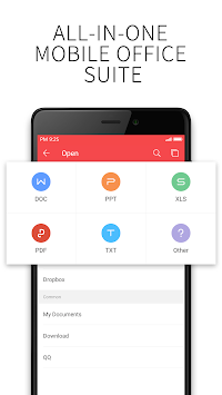 WPS Office + PDF APK screenshot thumbnail 2