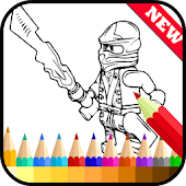 App Draw Coloring for Ninjago Fans APK for Windows Phone