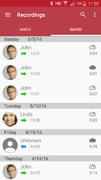 Automatic Call Recorder APK screenshot thumbnail 1