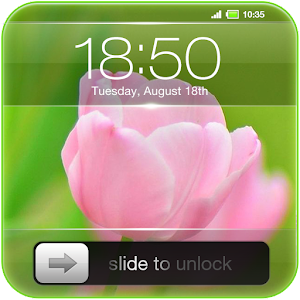 Slide to Unlock - Flower Theme Icon