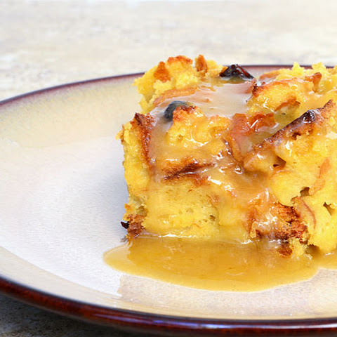 Bread Pudding with Citrus Caramel Sauce