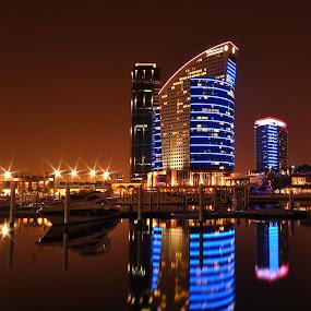 INTERCONTINENTAL HOTEL, DUBAI, UAE by EUGENE CAASI - Landscapes Travel